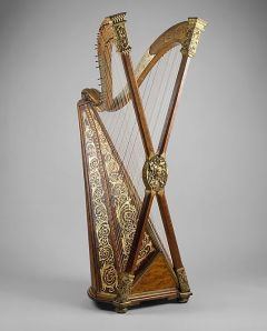 The double chromatic harp, a design that failed to catch on. Source: Metropolitan Museum of Art