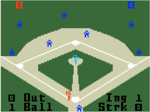 Intellivision Baseball