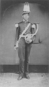 Musician with Schreiber horn, ca. 1870, from The Music Men
