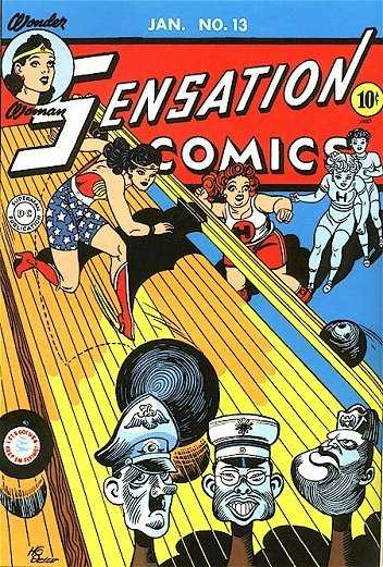 Image result for wonder woman fighting nazis comics